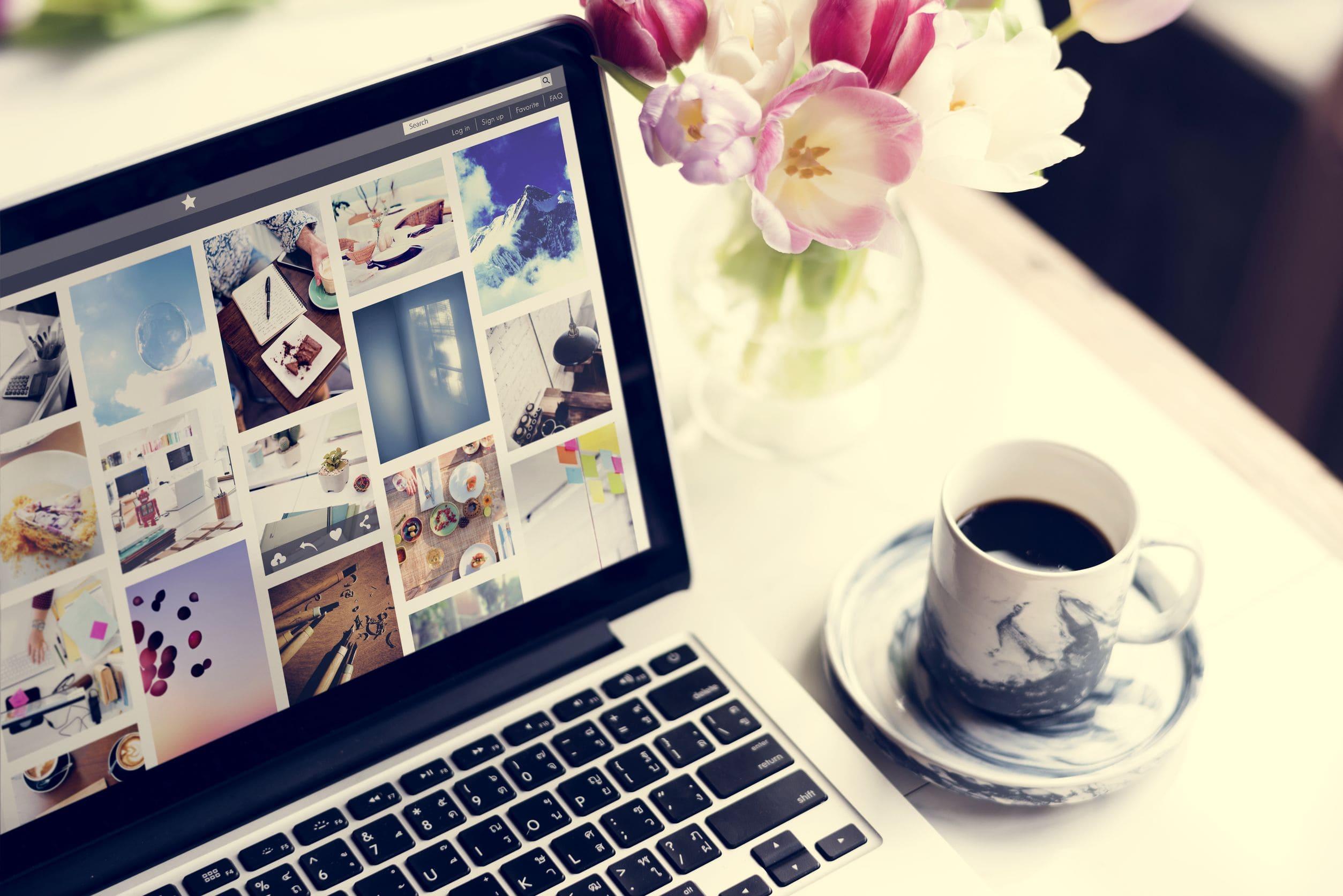Vorteile von Online-Fotogalerien